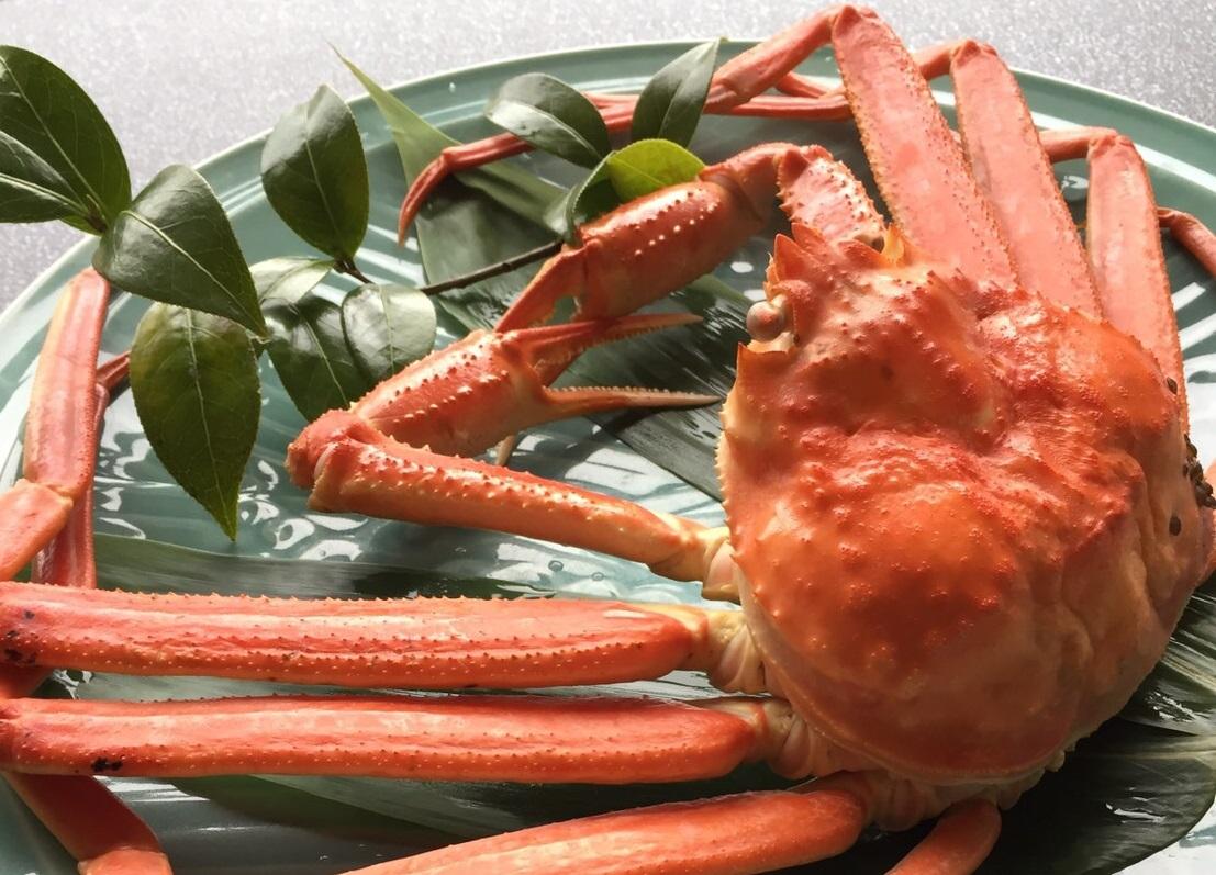 釜揚げ本ずわい蟹