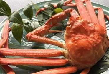 冬の贅沢『本ズワイ蟹』を堪能