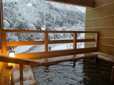 癒しの雪見☆彡貸切家族風呂付